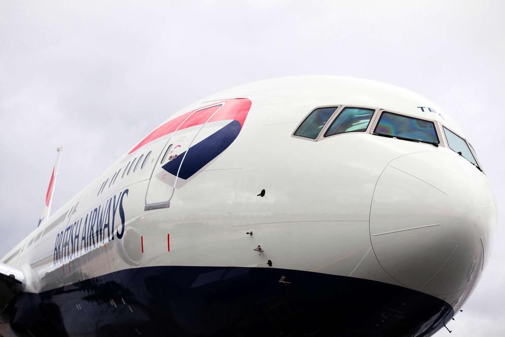 英航周日恢复伦敦飞香港客运航班