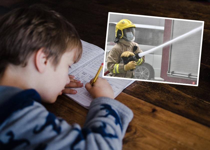 "【Juicy叮】儿子""我的志愿""作文写消防员被外婆擦掉重作 港爸叹不尊重"