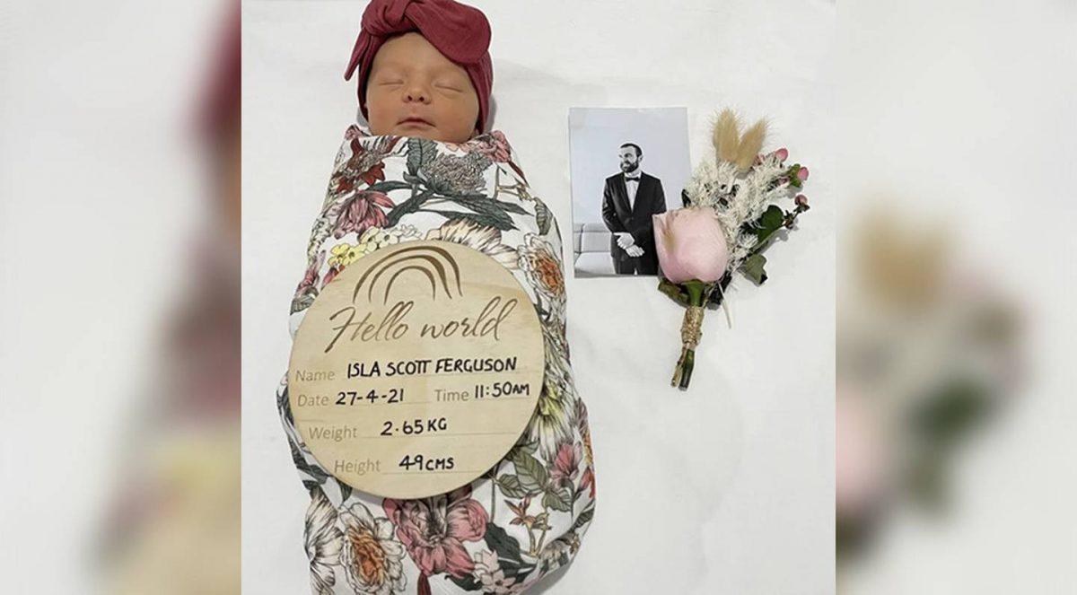 脑癌父为爱女积极抗癌 惜女儿诞生前四周亡留遗言:每天都想念你
