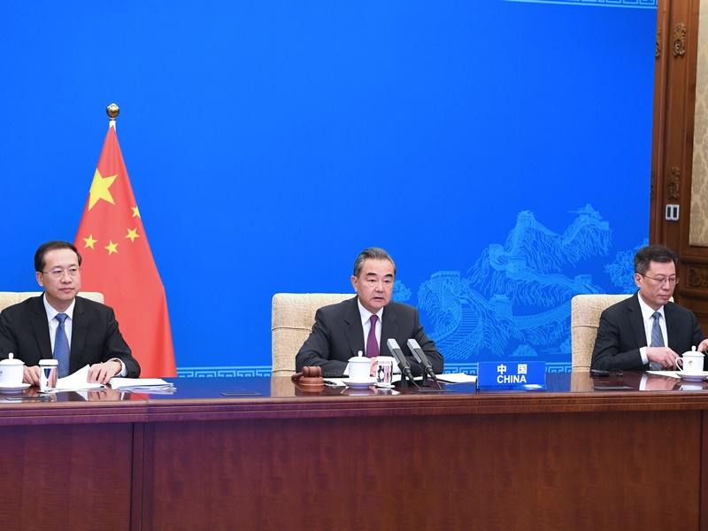 中美外长安理会再交锋 王毅:面对世纪疫情应携手实践真正多边主义