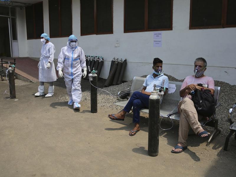 印度再增约40万宗确诊 单日逾4千人死亡
