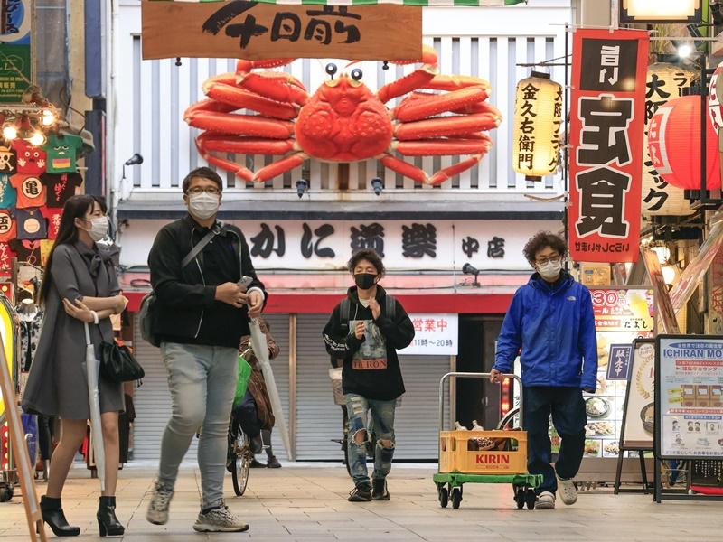 东京单日新增1121宗确诊 再多148人死亡