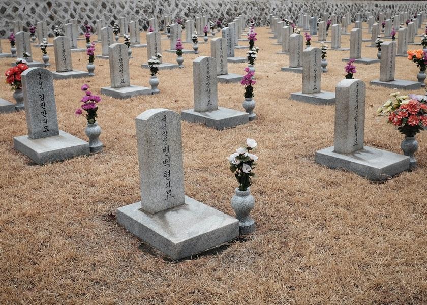 韩国妇起错坟草率烧尸了事 被起诉判处缓刑
