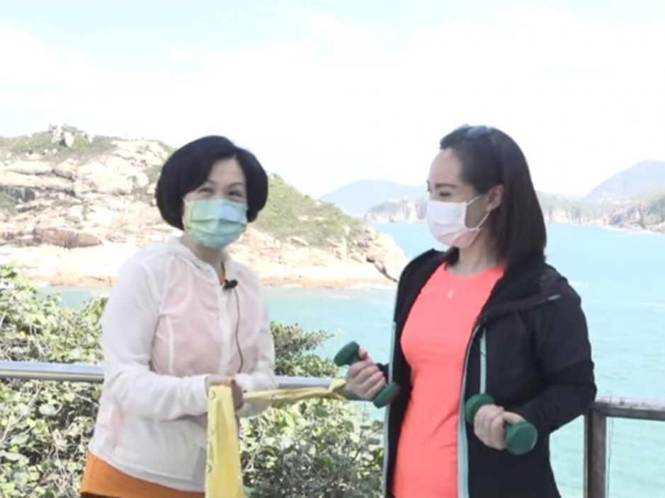 【Kelly Online】郑泳舜容海恩落区派花 叶刘推荐健康产品送妈妈