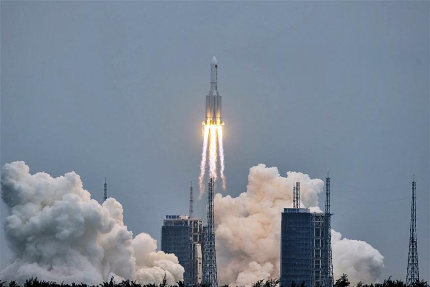 长征五号B火箭碎片料正午前重返大气层