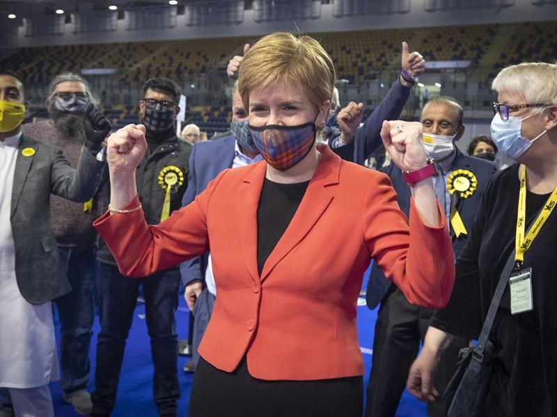 苏格兰民族党赢得大选 独立公投卷土重来