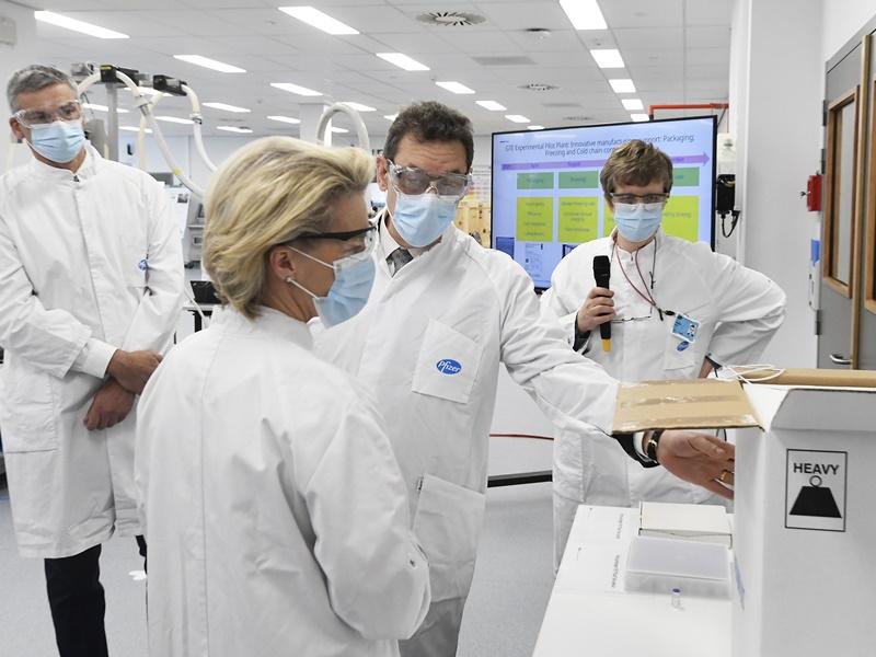 欧盟暂缓豁免疫苗知识产权 未来2年再购18亿剂辉瑞疫苗