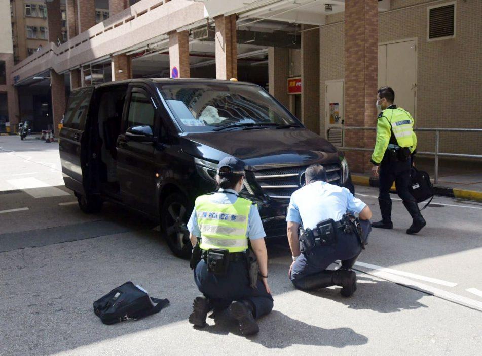 美孚老妇挨撞卷车底 男客货车司机涉危驾被捕