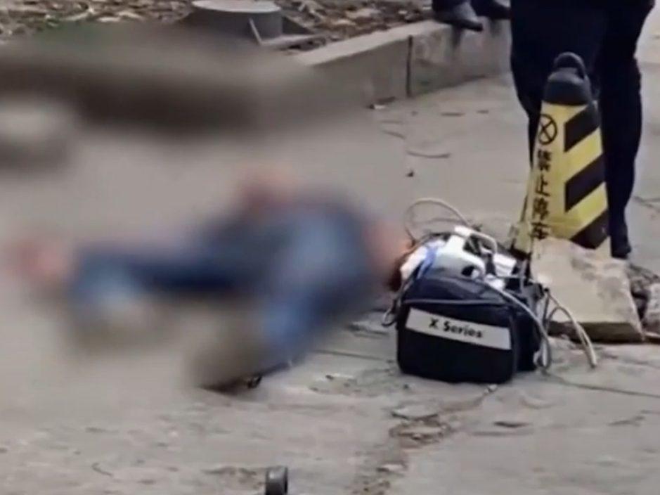 上海男当街杀人后再挟持超市女店员 被当场击毙
