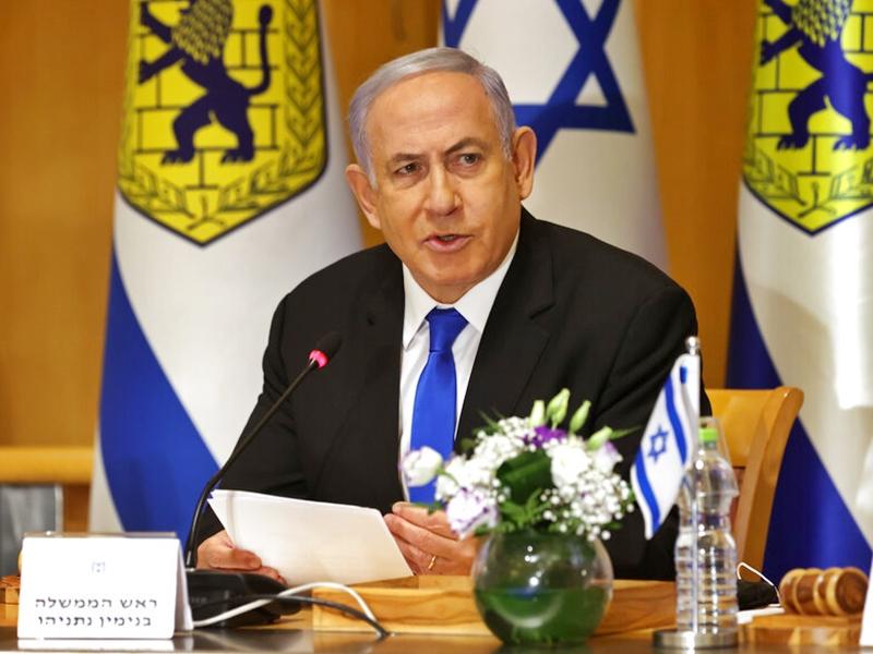 以色列总理重申耶路撒冷为首都 有权继续在当地建设