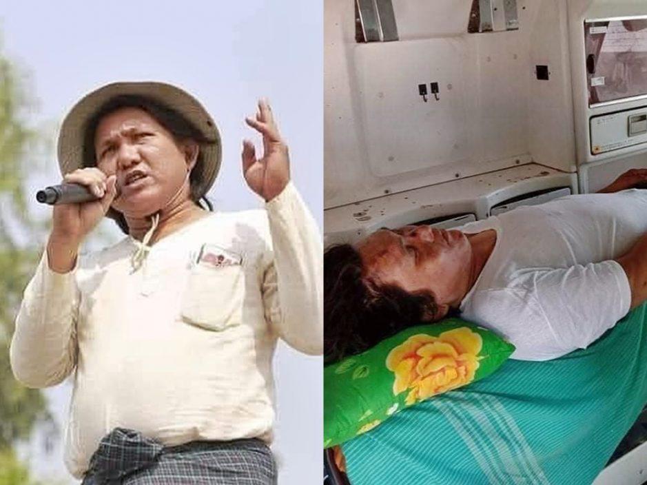 缅甸反政府诗人被拘后死亡 家属哭诉器官全遭摘除