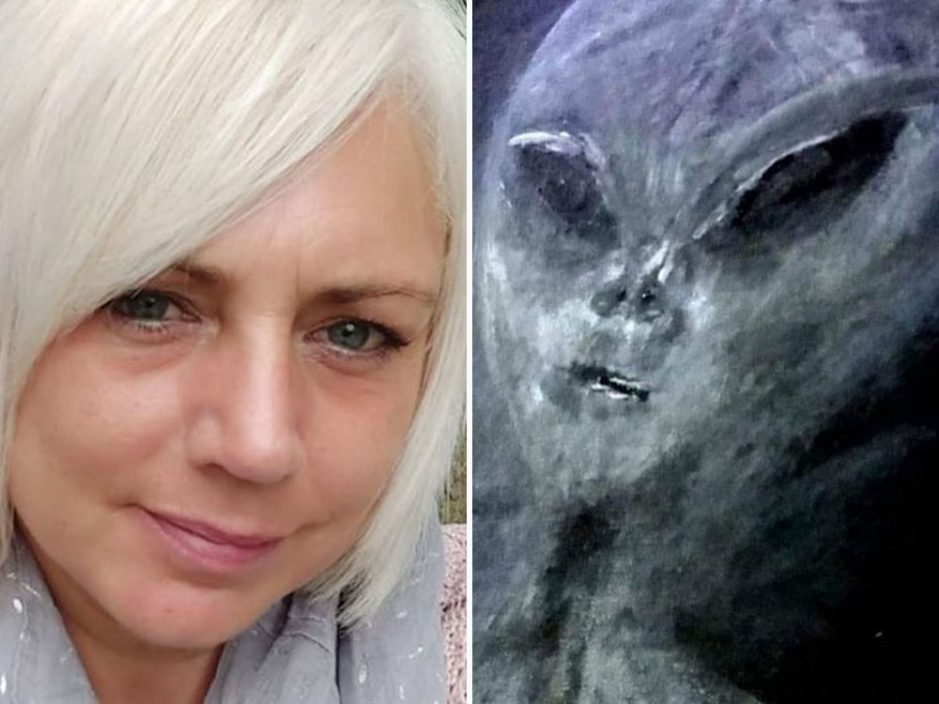 英女声称遭外星人绑架52次 身上留下瘀伤及手指印