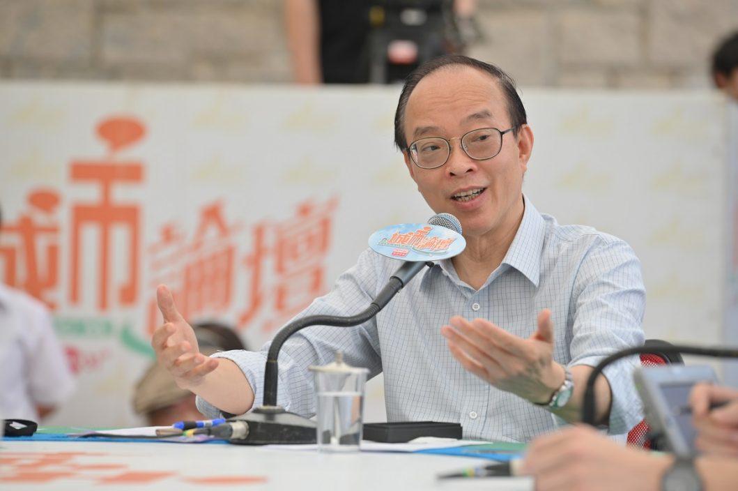 沈金康指购东奥转播权可让市民支持香港运动员