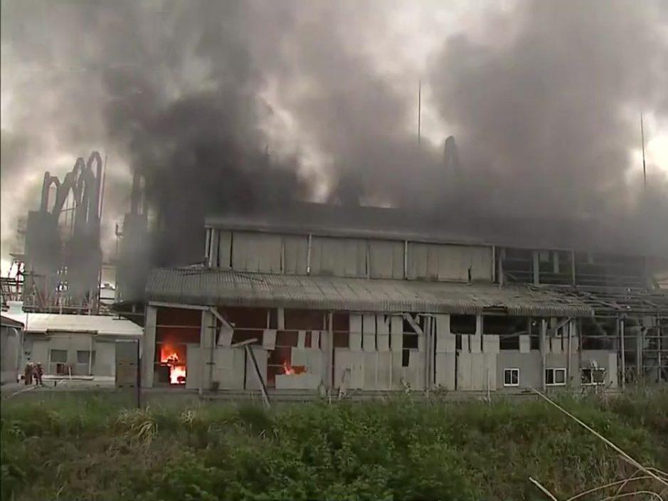 日本福岛化工厂爆炸 至少4人受伤
