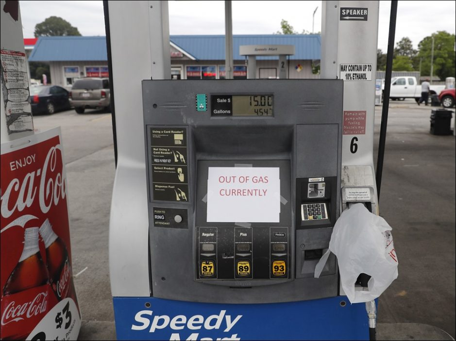 美东岸汽油短缺吁公众勿囤积 部分油站售罄油价急升
