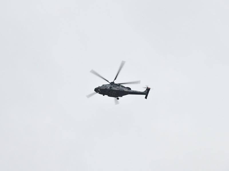 男子大屿山行山感气促 直升机送院