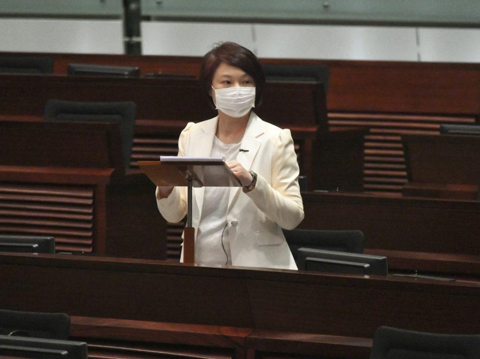 前议助舞弊贿选罪成 李慧琼指不知情不作评论
