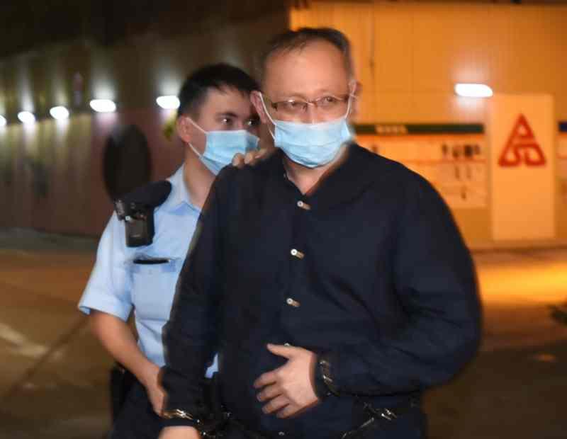 """岑子杰长毛等3人保释被拒 官指""""杰斯""""与台湾组织有紧密联系"""