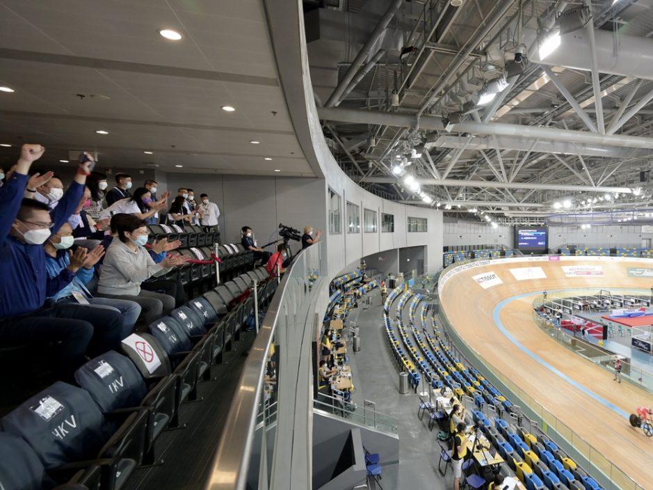 林郑:自行车赛展示香港极具挑战下筹办大型体育活动能力