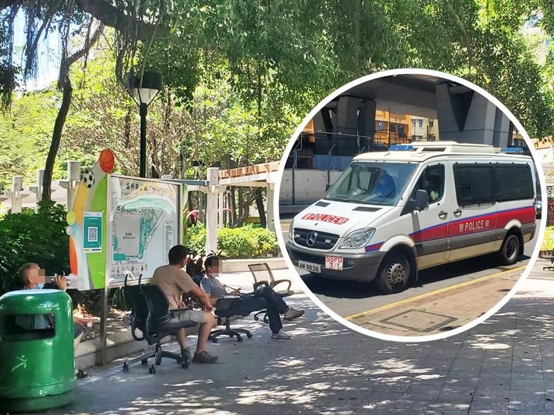 男子深水埗通州街公园遇劫 失手机及3万元现金