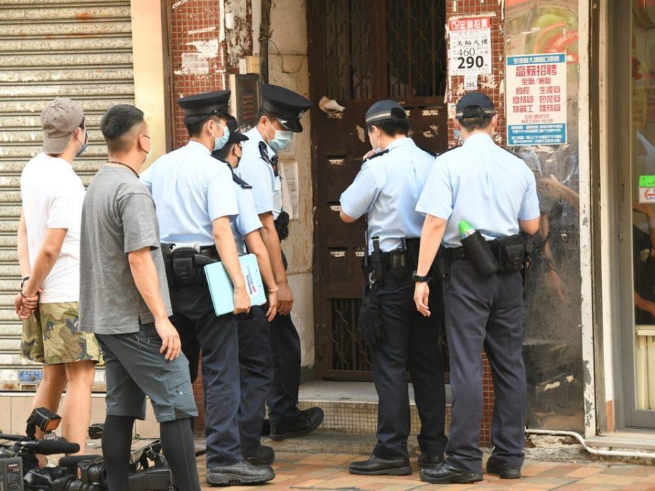 粉岭安老院惊传伤人案 7旬翁被斩全身血落楼求助
