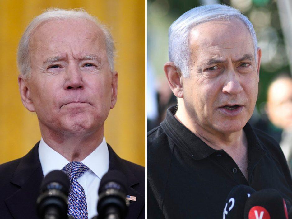 拜登与以色列总理通话 支持以巴停火