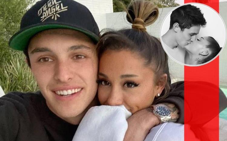 周末举行20人婚礼       Ariana Grande跟男友Dalton Gomez秘密结婚