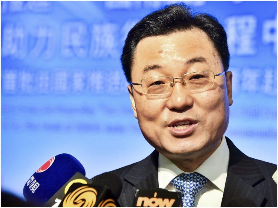 刘光源接替谢锋 出任外交部驻港特派员