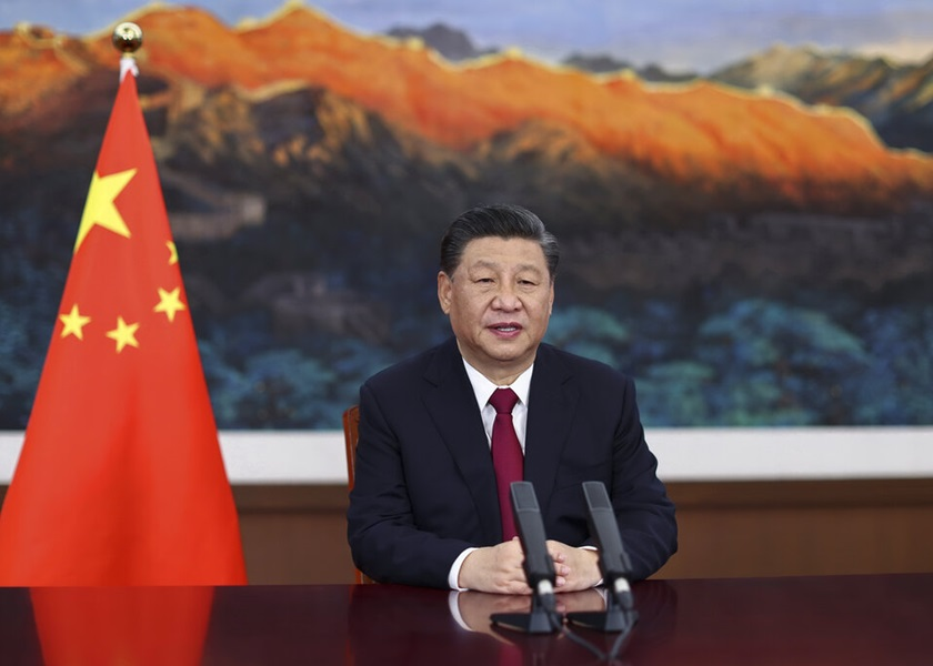 """国家主席习近平宣布拨30亿美元助全球抗疫 吁摒弃""""疫苗民族主义"""""""