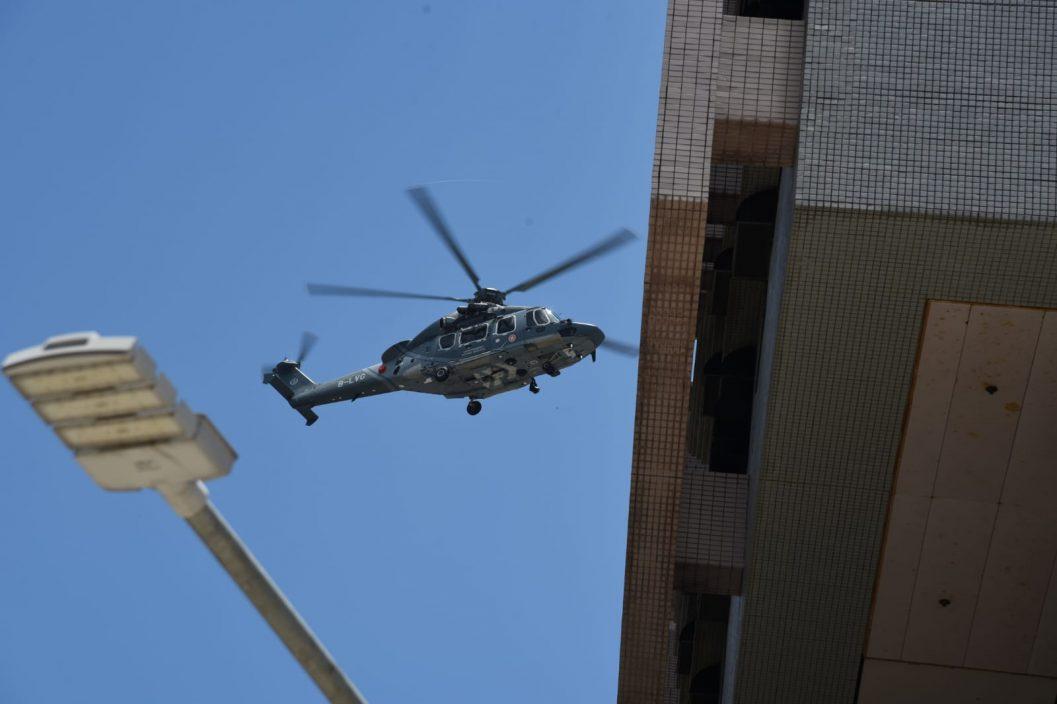 黄龙坑行山男失足堕10米石涧受伤 直升机送院治理