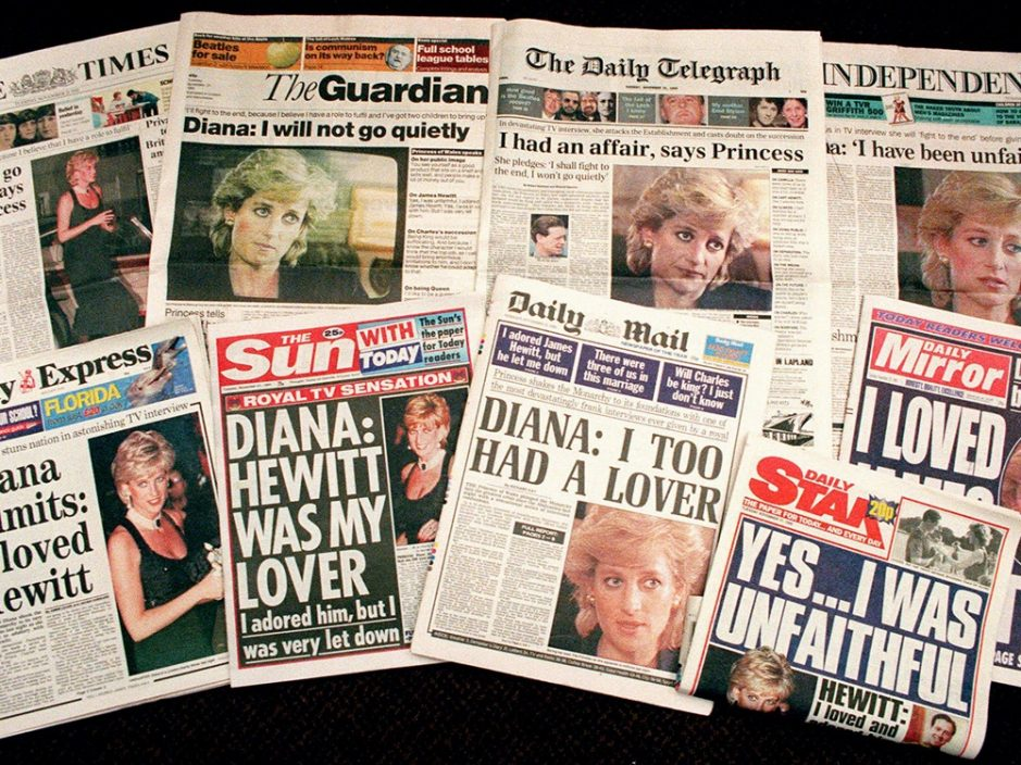为诱骗戴妃受访向威廉哈里道歉 BBC前记者否认与戴妃之死有关