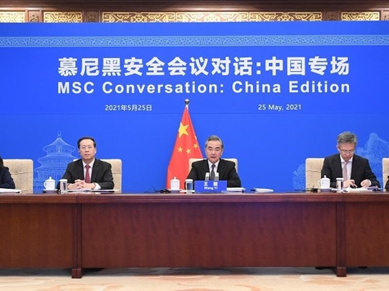 王毅称不接受欧盟将经贸问题政治化