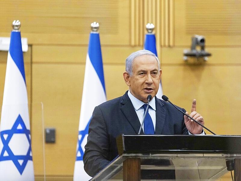 以色列中间派与右翼政党拟组执政联盟 内塔尼亚胡或下台