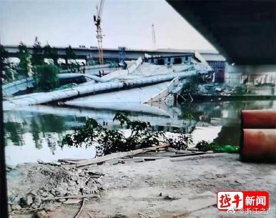 浙江一高速城区段在建桥梁局部垮塌,官方通报