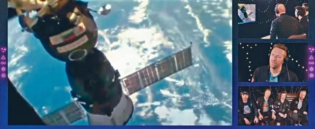 MV搵「外星人」伴舞  Coldplay新歌上太空首播