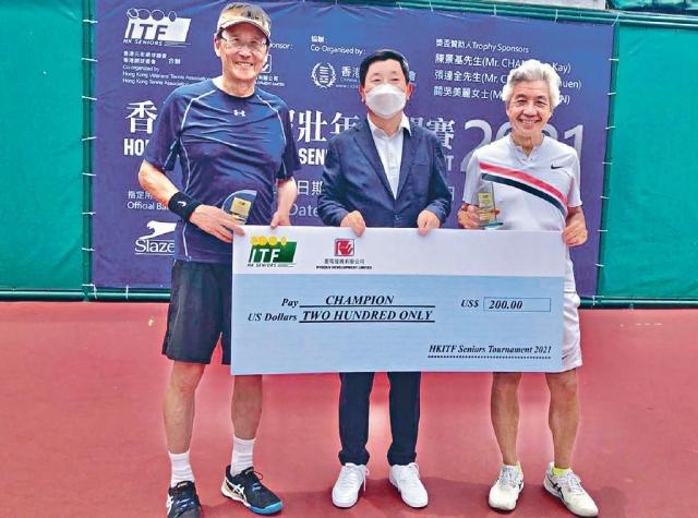 Executive日記——退休仍專注運動  橫掃國際網賽壯年組   吳光正封雙料冠軍