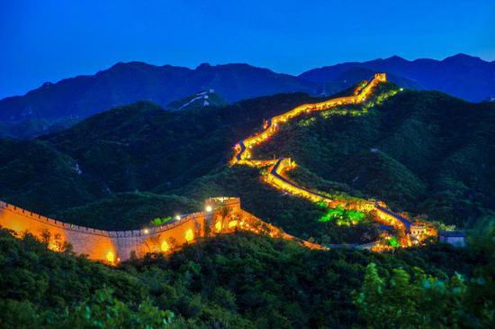端午三天假期,北京八达岭将开放夜长城游览