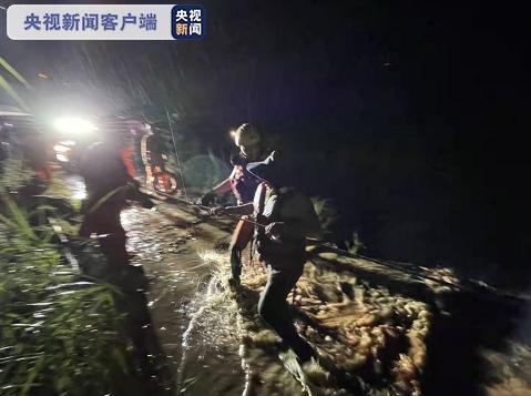 雲南元江山洪被困26人全部被救出 1人遇難