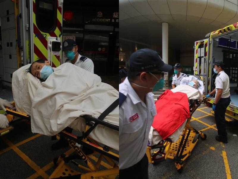 单位传异味 揭两年迈长者虚弱险失救送院