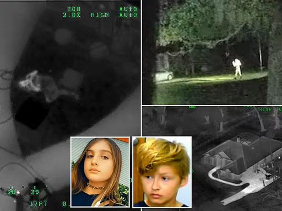 佛州14岁女童和12岁男童洗劫民宅 偷AK47与警交火半小时