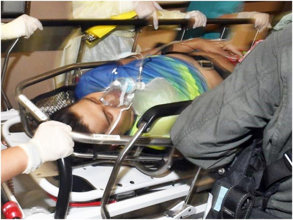 22岁南亚汉行大屿山吐白沫昏迷 直升机送院