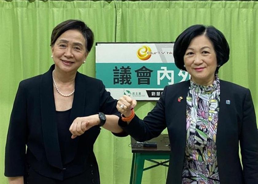 叶刘淑仪预料未来担任特首者 有可能面对制裁