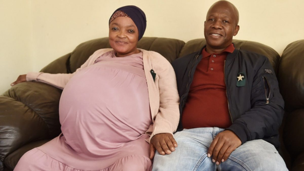 南非妇诞十胞胎打破世界纪录 政府官员:没有相关纪录有待确认