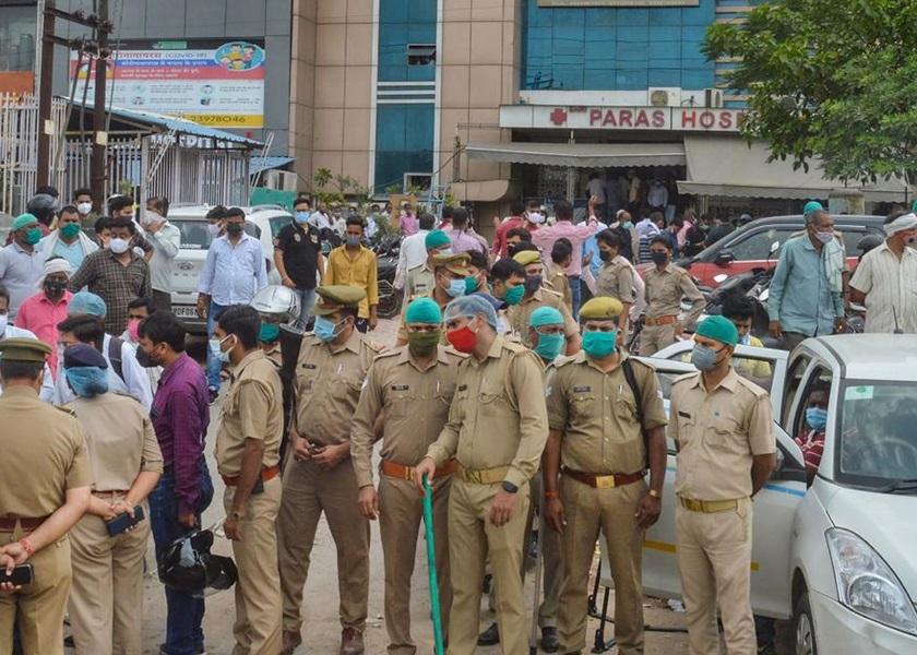 印度医院为做实验暂停对新冠病人供氧 疑致22病人身亡