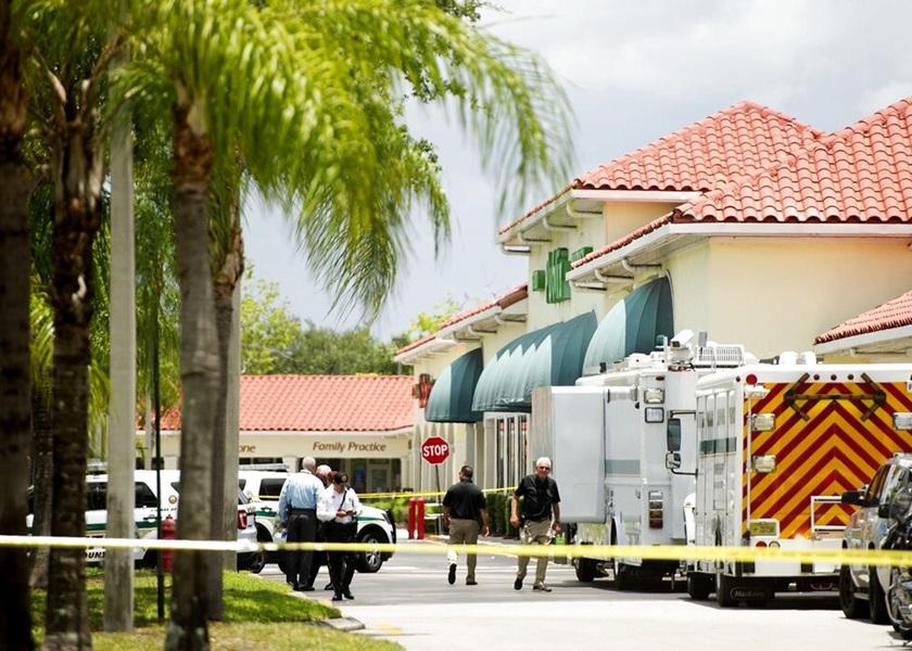 美国超市发生枪击案 疑凶击毙二人后自轰身亡