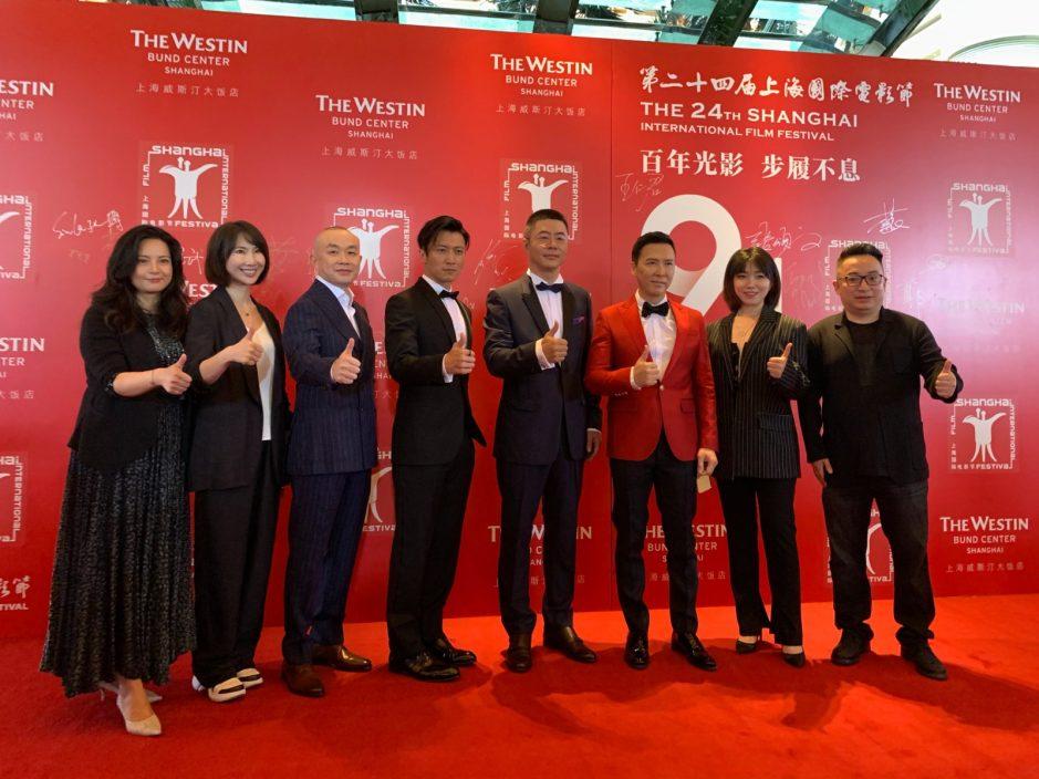 携《怒火》登陆上海国际电影节 甄子丹望观众留意香港警匪片