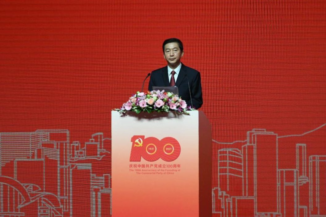 骆惠宁:叫嚣结束一党专政的人是香港大敌