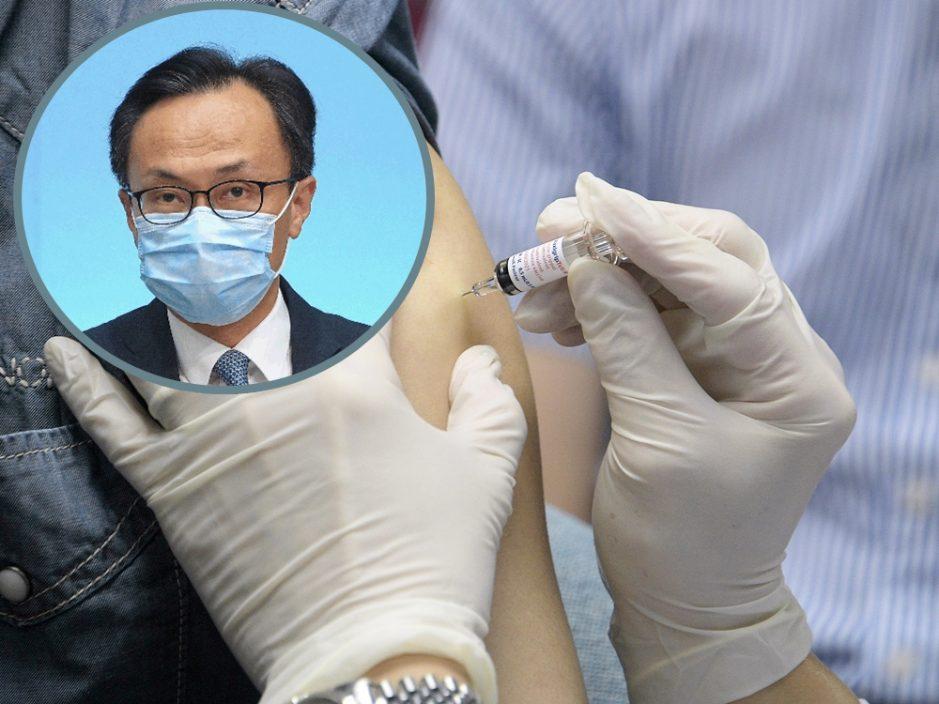 聂德权指单日增5.4万剂疫苗接种再创新高