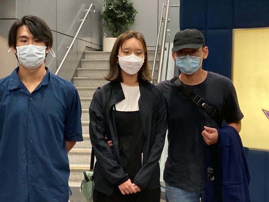 """""""贤学思政""""王逸战黄沅琳获准保释 7月中向警方报到"""