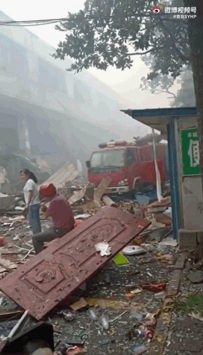 湖北十堰市天然气爆炸 酿11死37人重伤